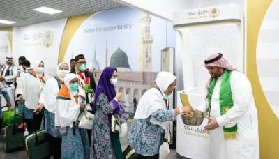 Over 54,000 Hajj pilgrims of Makkah Route Initiative arrive in Saudi Arabia
