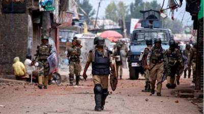 Several injured in Indian forces' action on protesters in Occupied Kashmir