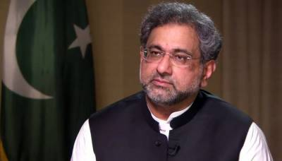 Shahzad Akbar involved in fabricated news against Sharifs: Khaqan Abbasi