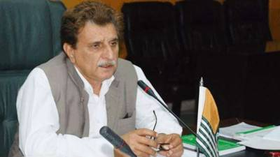 AJK PM urges EU to play role to halt HR violations in Occupied Kashmir