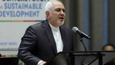 Iran FM at UN accuses US of 'economic terrorism'