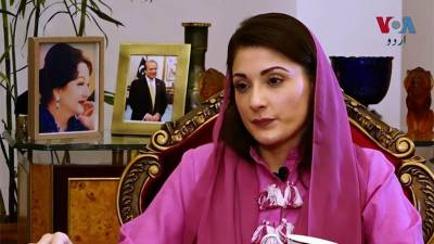 Maryam Nawaz spits venom against state institutions in an interview to foreign news agency