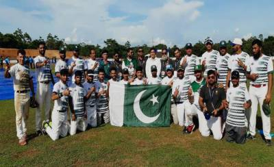Pakistan thrashed arch rival India 13-2 in semifinals of Baseball Cup 2019
