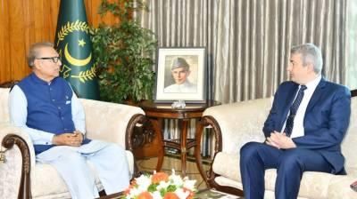 President stresses for further enhancing Pakistan-Belgium ties