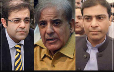 New developments reported in 150 bank accounts of Shahbaz Sharif family