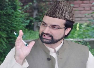 Mirwaiz urges India to shun approach of force towards Kashmir dispute