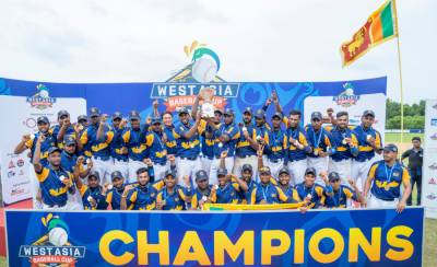 Pakistan bags silver medal in finals of West Asian Baseball Cup 2019