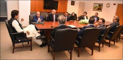 PM Imran Khan makes offers to top US businessmen and investors