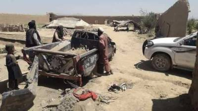 Afghan Air Force strike plays havoc upon civilians