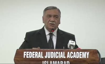 Chief Justice of Pakistan Justice Asif Saeed Khosa called for launching a countrywide movement