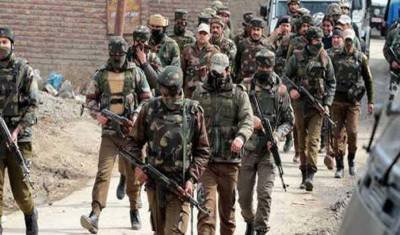 Occupied Kashmir: Indian forces conduct operation in Kreeri, Baramula