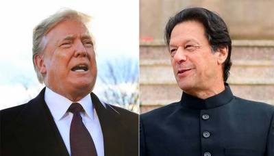 PM Imran Khan and US President Donald Trump meeting underway in White House