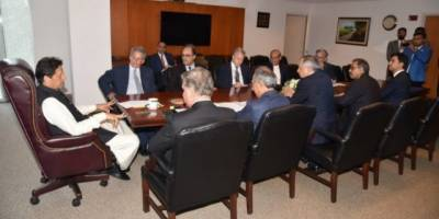 PM Imran Khan discusses economic issues and reforms with IMF Chief in Washington