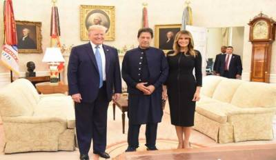 Melania Trump expresses happiness on visit of PM Imran to White House
