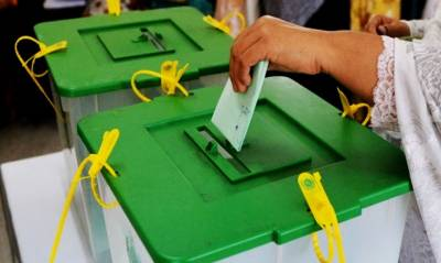 Polling for by-election for NA-205-Ghotki-II underway