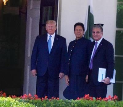 US President Trump receives Imran Khan at White House