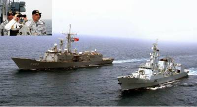 Pakistan and Turkey conduct joint Naval Exercise at Karachi