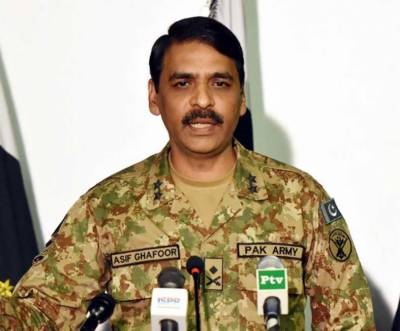 DG ISPR's message to India over Occupied Kashmir