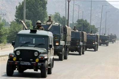 Massive buildup of security forces in Occupied Kashmir, Even Indian Congress raises serious concerns