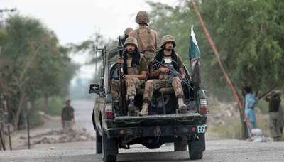 Three soldiers of security forces martyred in a terrorist attack in KP