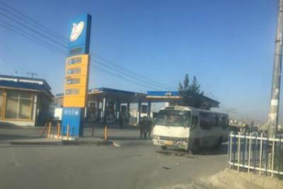 Bomb blast targets journalists bus in Kabul, casualties reported