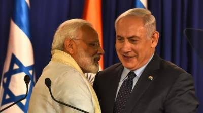 India and Israel inch closer further with Modi and Netanyahu exchanging greetings
