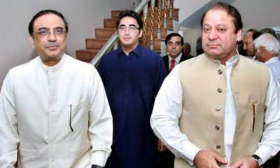 PPP and PML (N) top leaders accuse each other of 'dirty game'