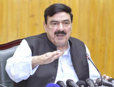 Railways Minister Sheikh Rashid Ahmed makes an urge to the Nation