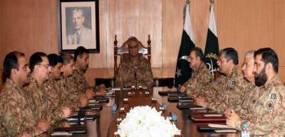 Pakistan Army Corps Commanders Conference sends a stern message to India