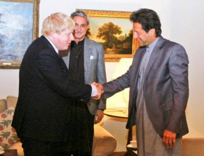 Pakistan UK top leadership discuss serious situation in occupied Kashmir after Indian action