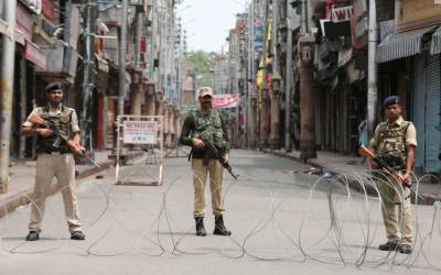 Protests erupt in parts of World against India over Occupied Kashmir brutality
