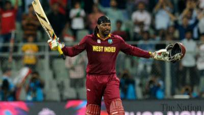 Legendry Chris Gayle makes history for West Indies Cricket