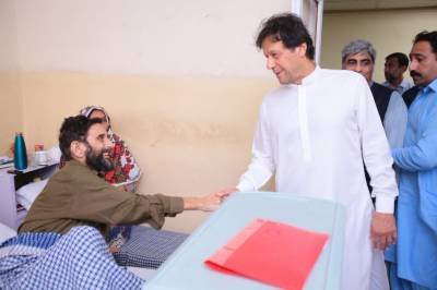 PM Imran Khan makes a surprise visit in Islamabad