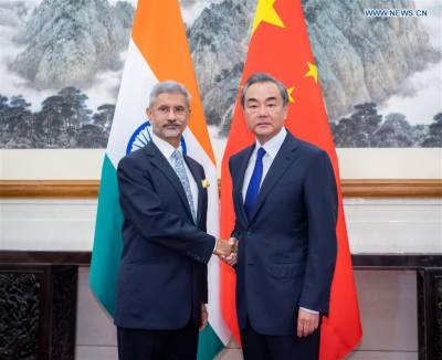 India seeks good relations with Pakistan and ready for restraint, Indian FM says in meeting with Chinese counterpart