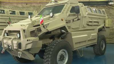 Iran unveiled new state of the art military armoured vehicles
