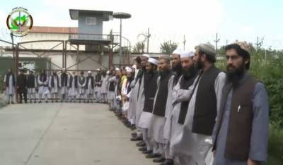 President Ashraf Ghani releases dozens of Afghan Taliban inmates from prisons