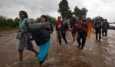 Death toll from heavy rains rises drastically in India
