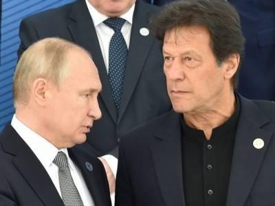 Russian President Vladimir Putin message to PM Khan and Pakistani nation