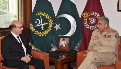 Pakistan Army Chief gives full assurance to Azad Kashmir President