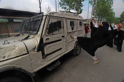 Thousands of Kashmiri women throng to streets to lead anti India protests in the valley