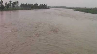 Flood waters enter Pakistan from India without any intimation from authorities