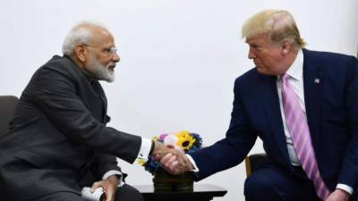 Indian PM Modi makes indirect complain to US President Trump against Pakistani PM Imran Khan