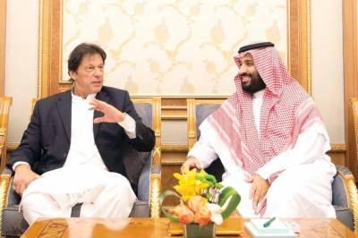Saudi Crown Prince Mohammad bin Salman had telephonic contact with Pakistani PM Imran Khan