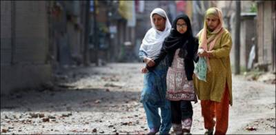 Shameless Indian troops molested Kashmiri girls and abduct teenage boys during house raids