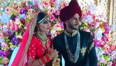 Pakistan's Hasan Ali tied the knot with Indian national Shamia Arzoo in Dubai