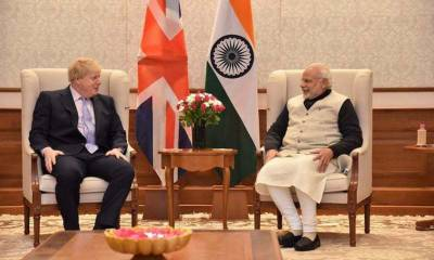 Indian PM Modi complains to British PM over Occupied Kashmir protests