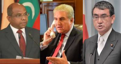 Pakistan FM Shah Mehmood Qureshi held important telephonic conversation with his Japanese counterpart over Occupied Kashmir