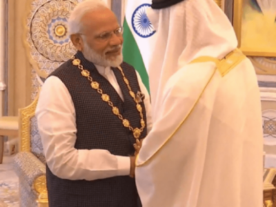 A day of shame for Muslims as Indian PM Modi honoured highest award by key Islamic country