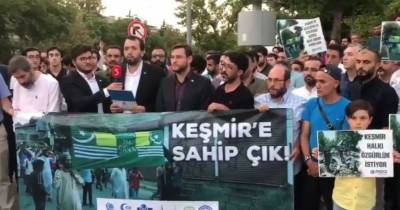 Worldwide protests held across capitals against Indian brutalities in Occupied Kashmir