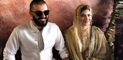Actor Hamza Ali Abbasi marries Naimal Khawar in a simple ceremony